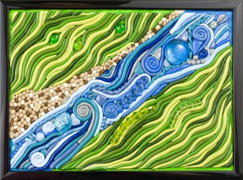 River & Fields (WhiteRosesArt.com)