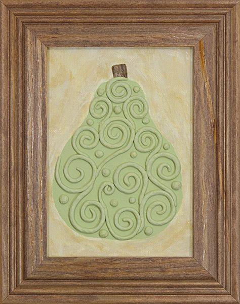 A Simple Pear (whiterosesart.com)