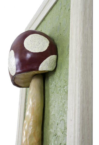 Mushroom No. 1 - detail image (WhiteRosesArt.com)